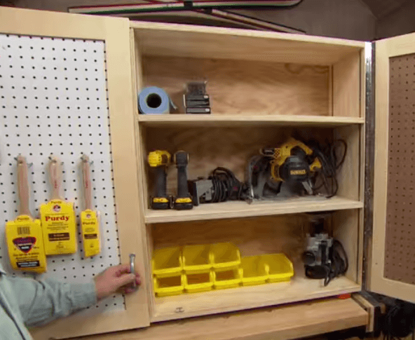 Diy Tool Storage Cabinet The Tub Connection Blog