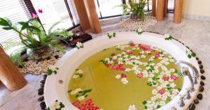 Round Tub, Garden Tub, Roman Faucet,