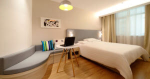bedroom with light,