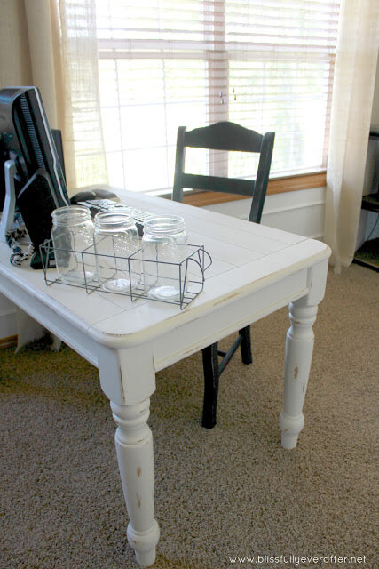 Upcycle Turn A Coffee Table Into Desk