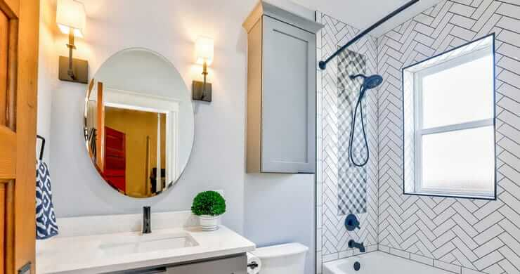 Before and After – A Bathroom Becomes an Eclectic Retreat