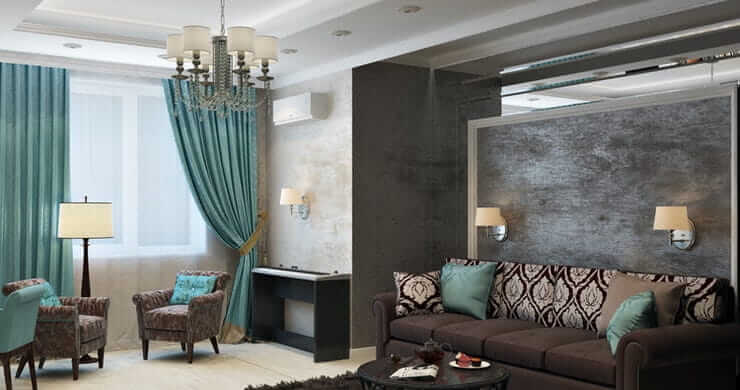 How to Decorate with Brown and Colors that Complement